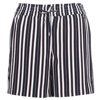 vaatteet Naiset Shortsit / Bermuda-shortsit Only ONLPIPER Laivastonsininen / White