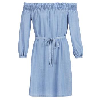 vaatteet Naiset Lyhyt mekko Only ONLSAMANTHA Blue / Clair