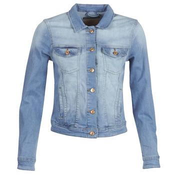 vaatteet Naiset Farkkutakki Only ONLTIA Blue / Clair