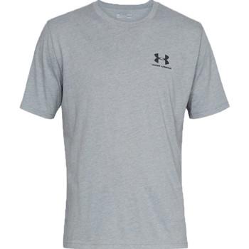 vaatteet Miehet Lyhythihainen t-paita Under Armour Sportstyle Left Chest Tee 1326799-036