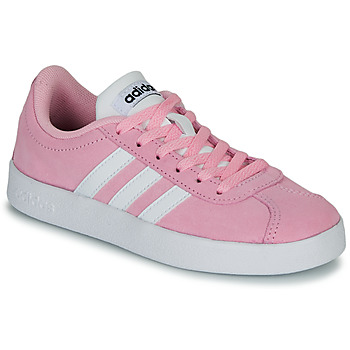 kengät Lapset Matalavartiset tennarit adidas Originals VL COURT K ROSE Pink