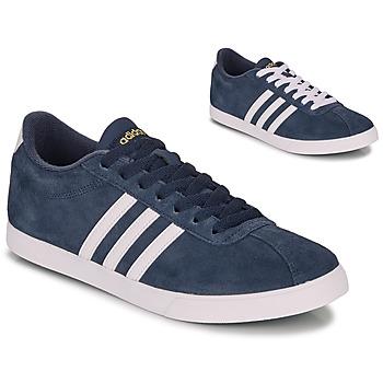 kengät Naiset Matalavartiset tennarit adidas Originals COURTSET N AVY Laivastonsininen