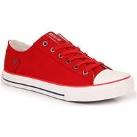kengät Naiset Matalavartiset tennarit Big Star INT1092B Valkoiset, Punainen