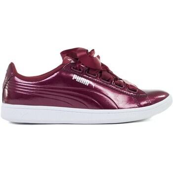 kengät Naiset Matalavartiset tennarit Puma Vikky Ribbon P Tummanpunainen