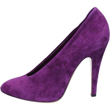 kengät Naiset Korkokengät Casadei Dekolte kengät AZ383 Violetti