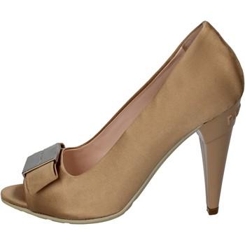 kengät Naiset Korkokengät Richmond decolte beige raso oro wh897 Beige