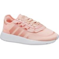 kengät Tytöt Matalavartiset tennarit adidas Originals N5923 J Vaaleanpunaiset
