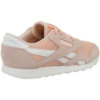 kengät Naiset Matalavartiset tennarit Reebok Sport CL Nylon Mesh M Desert Vaaleanpunaiset