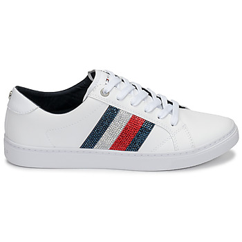 Tommy Hilfiger CRYSTAL LEATHER CASUAL SNEAKER