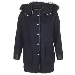 vaatteet Naiset Paksu takki Suncoo ELFIE Laivastonsininen