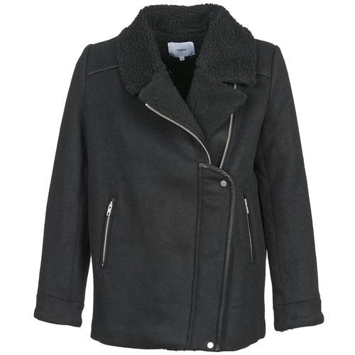 vaatteet Naiset Paksu takki Suncoo ERWAN Black