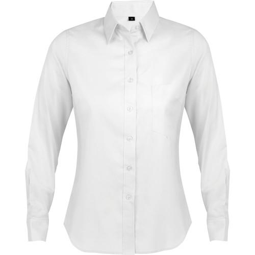 vaatteet Naiset Paitapusero / Kauluspaita Sols BUSINESS WOMEN Blanco
