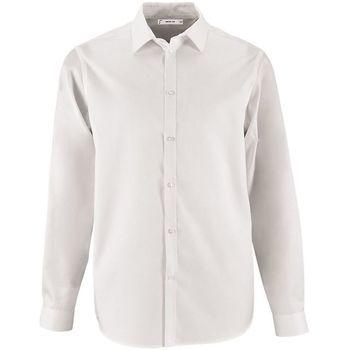 vaatteet Miehet Pitkähihainen paitapusero Sols BRODY WORKER MEN Blanco