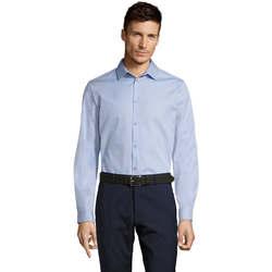 vaatteet Miehet Pitkähihainen paitapusero Sols BRODY WORKER MEN Azul