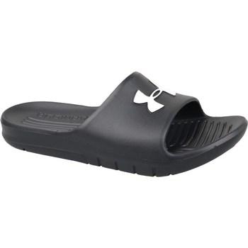 kengät Miehet Rantasandaalit Under Armour Core Pth Slides Mustat