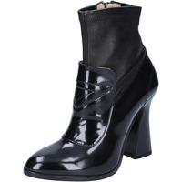 kengät Naiset Nilkkurit Roberto Botticelli BS280 Musta