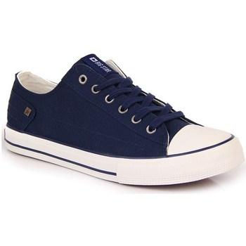 kengät Naiset Matalavartiset tennarit Big Star INT1092C Valkoiset, Tummansininen