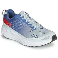 kengät Naiset Juoksukengät / Trail-kengät Hoka one one CLIFTON 6 Blue