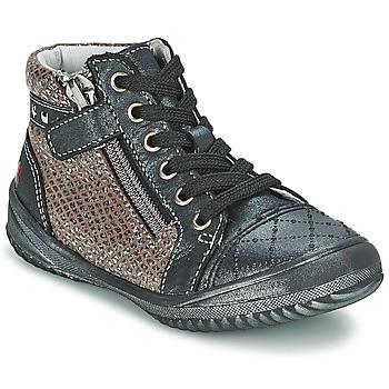 kengät Tytöt Bootsit GBB LEONIA Grey / Argenté