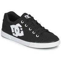 kengät Naiset Skeittikengät DC Shoes CHELSEA TX Black / White