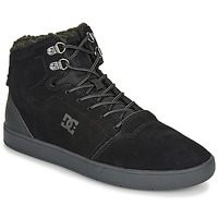 kengät Miehet Korkeavartiset tennarit DC Shoes CRISIS HIGH WNT Black / Grey