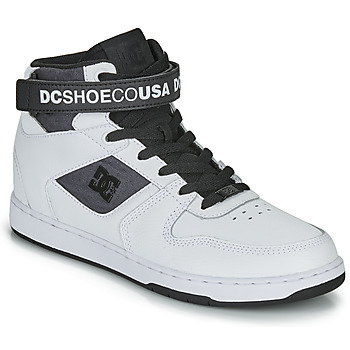 kengät Miehet Korkeavartiset tennarit DC Shoes PENSFORD SE White / Black
