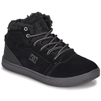 kengät Lapset Korkeavartiset tennarit DC Shoes CRISIS HIGH WNT Black
