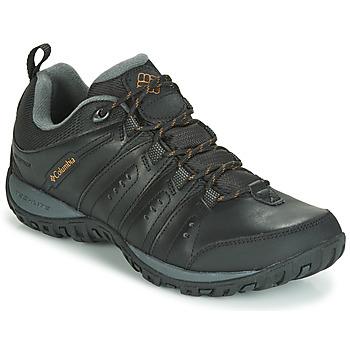 kengät Miehet Urheilukengät Columbia WOODBURN II WATERPROOF Black