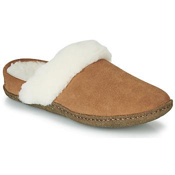 kengät Naiset Tossut Sorel NAKISKA SLIDE II Camel