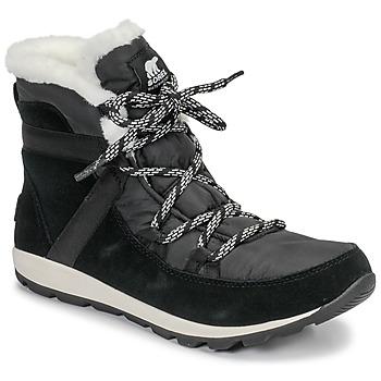 kengät Naiset Bootsit Sorel WHITNEY FLURRY Black