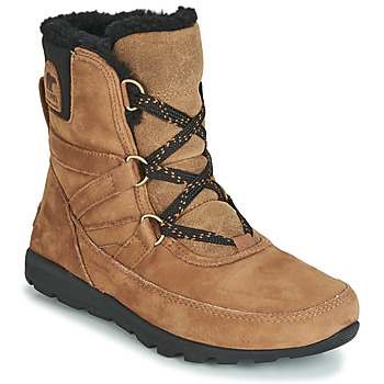 kengät Naiset Bootsit Sorel WHITNEY SHORT LACE PREMIUM Camel