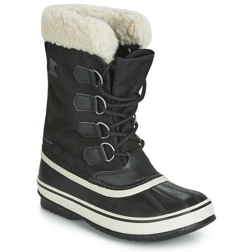 kengät Naiset Talvisaappaat Sorel WINTER CARNIVAL Musta