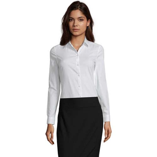 vaatteet Naiset Paitapusero / Kauluspaita Sols BLAKE MODERN WOMEN Blanco