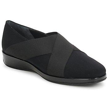 kengät Naiset Mokkasiinit Amalfi by Rangoni PRETTY Musta