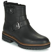 kengät Naiset Bootsit Timberland LONDON SQUARE BIKER Black