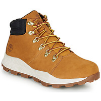 kengät Miehet Korkeavartiset tennarit Timberland BROOKLYN HIKER Red multi wf sde / Brown