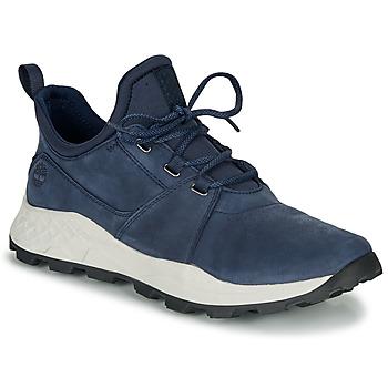 kengät Miehet Matalavartiset tennarit Timberland BROOKLYN LACE OXFORD Blue