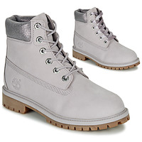 kengät Lapset Bootsit Timberland 6 IN PREMIUM WP BOOT Grey