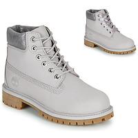 kengät Lapset Bootsit Timberland 6 IN PREMIUM WP BOOT Harmaa