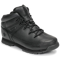 kengät Lapset Bootsit Timberland EURO SPRINT Musta