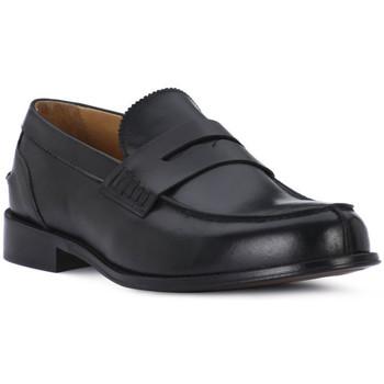 kengät Miehet Mokkasiinit Exton VITELLO NERO Nero