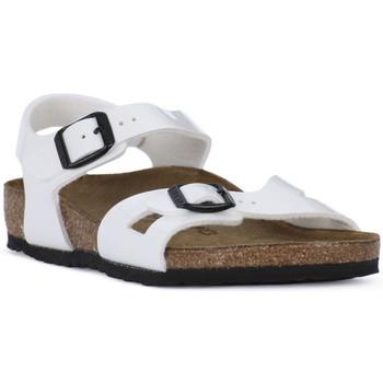 kengät Pojat Sandaalit ja avokkaat Birkenstock RIO WHITE Bianco