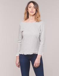 vaatteet Naiset T-paidat pitkillä hihoilla Betty London KARA White / Laivastonsininen