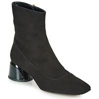 kengät Naiset Bootsit Castaner LETO Musta