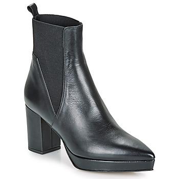 kengät Naiset Bootsit Castaner OLGA Musta
