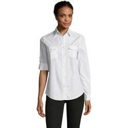 vaatteet Naiset Paitapusero / Kauluspaita Sols BURMA MODERN STYLE Blanco