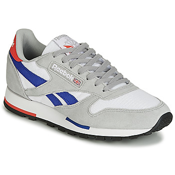 kengät Matalavartiset tennarit Reebok Classic CL LEATHER MU Grey / Blue