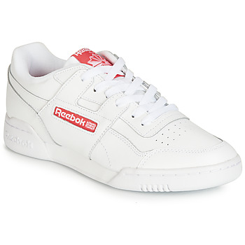kengät Matalavartiset tennarit Reebok Classic WORKOUT PLUS MU White / Red