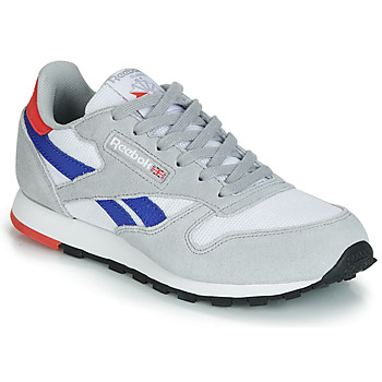 kengät Lapset Matalavartiset tennarit Reebok Classic CLASSIC LEATHER Grey / Blue