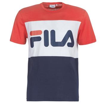 vaatteet Miehet Lyhythihainen t-paita Fila DAY TEE Laivastonsininen / Red / White